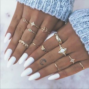 Beautiful ring set